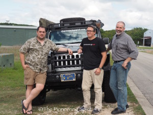Jared with Craig & Trey from Pronghorn Overland Gear