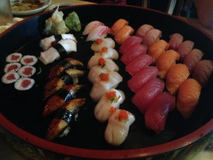 Platter of Sushi (Photo: The Pioneering Spirit)