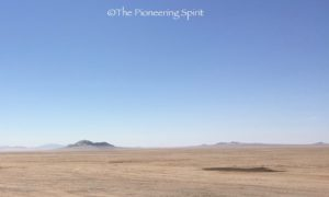 The barren land on the way to Luderitz